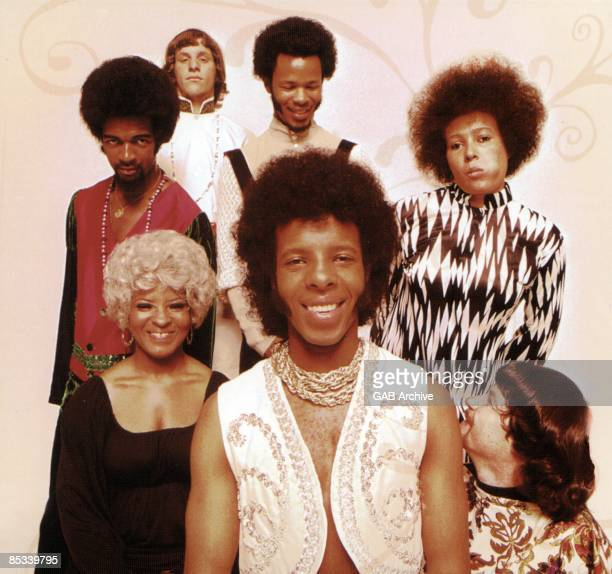 Photo of SLY The FAMILY STONE and Larry GRAHAM and Gregg ERRICO and Freddie STONE and Cynthia ROBINSON and Rose STONE and Sly STONE and Jerry MARTINI...