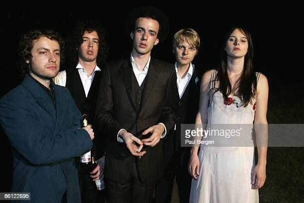 Photo of Sophia BURN and VEILS and Finn ANDREWS and Liam GERRARD LR Liam Gerrard Finn Andrews Hunning Dietz Sophia Burn Posed
