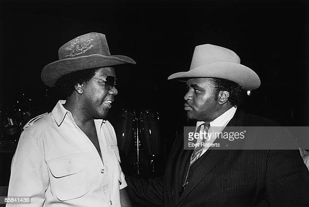 Photo of SOUL CLAN and Solomon BURKE and Don COVAY, Don Covay and Solomon Burke