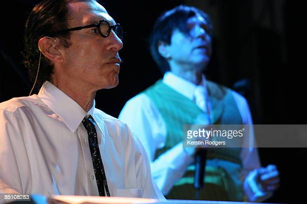 Photo of SPARKS and Ron MAEL and Russell MAEL, Ron Mael and Russell Mael performing on stage