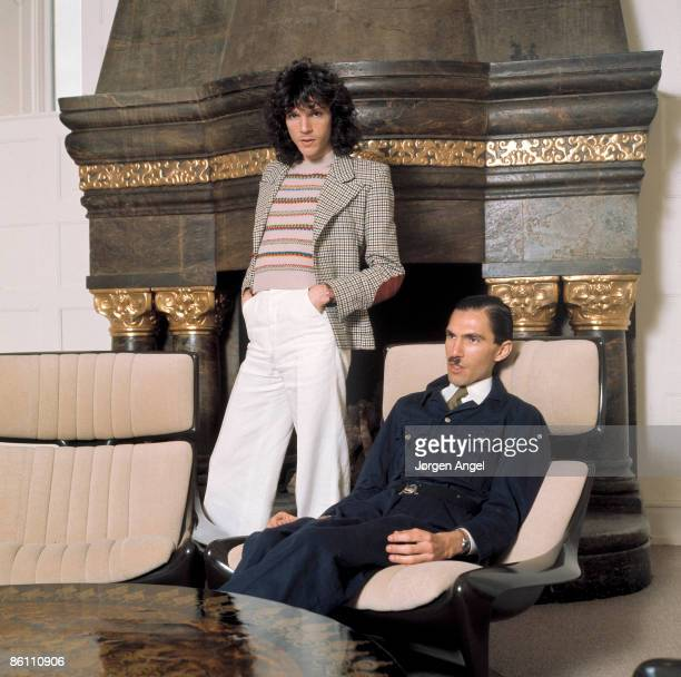 Photo of SPARKS; Sparks Ron Mael Russell Mael, 1975 - Copenhagen, Denmark