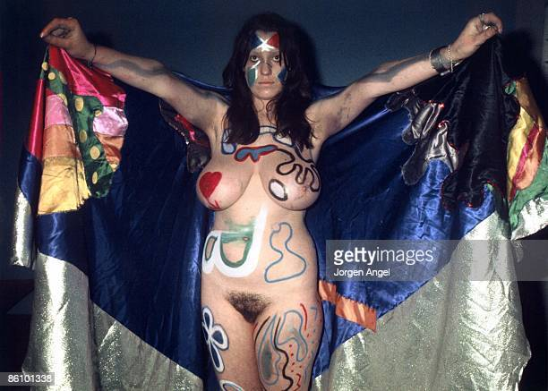 Photo of STACIA; ID#: StaciaCol 07A, Stacia, Hawkwind., Denmark, 1972