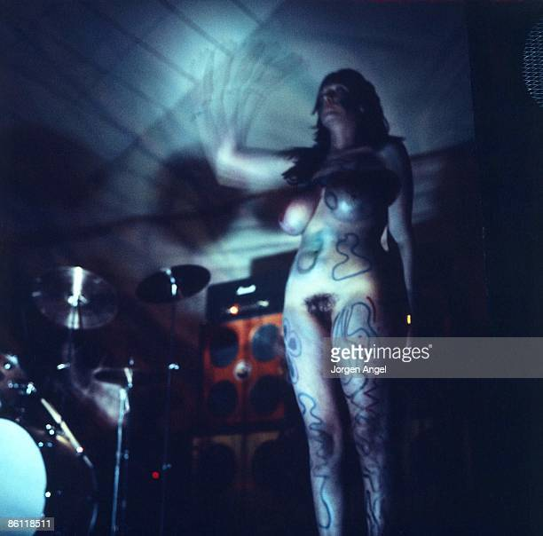 Photo of STACIA; ID#: StaciaStrobo 11, Stacia, Hawkwind., Denmark, 1972