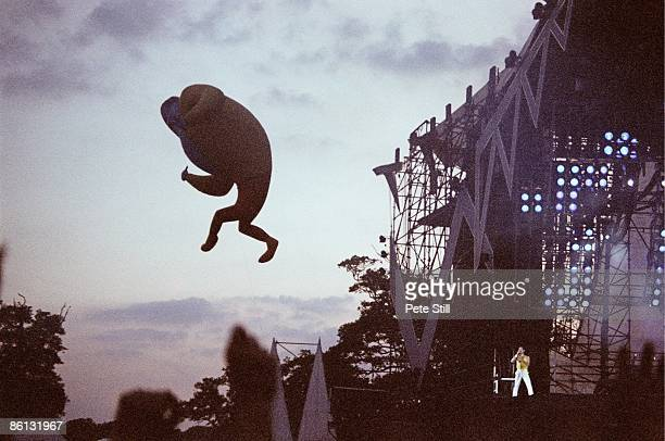 Photo of STAGE and QUEEN and Freddie MERCURY and CONCERT, Freddie Mercury