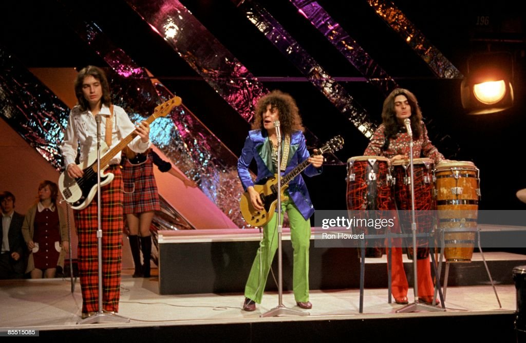 Photo of Steve CURRIE and Marc BOLAN and T REX and Mickey FINN : News Photo