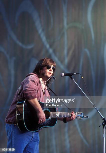 Photo of Steve EARLE Steve Earle performing at Farm Aid in Columbia South Carolina on October 12 1996