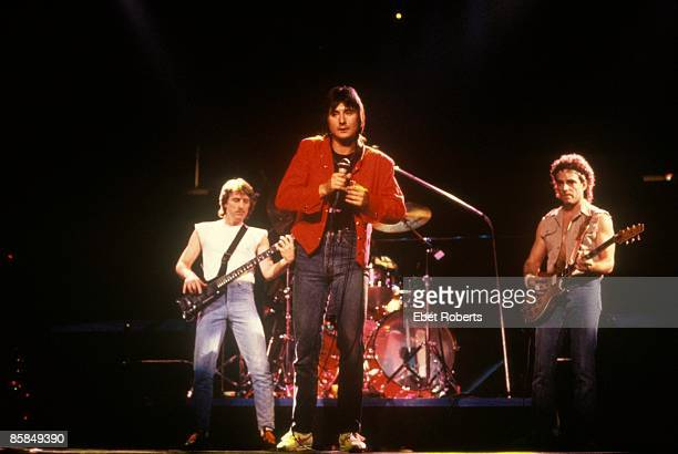 Photo of Steve PERRY and JOURNEY and Ross VALORY and Neal SCHON Ross Valory Steve Perry and Neal Schon performing live onstage