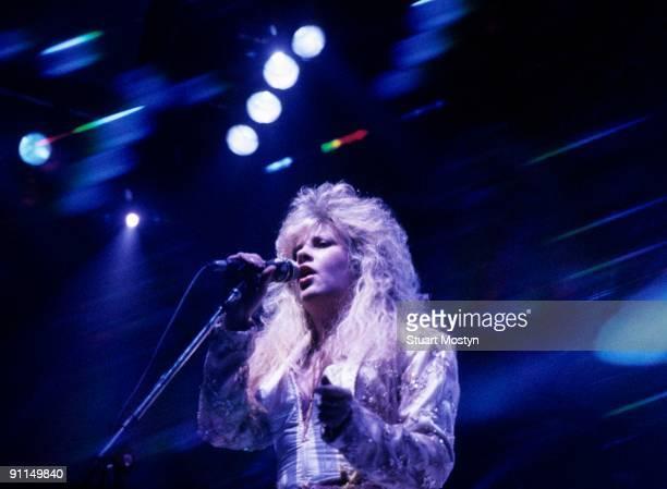 WEMBLEY Photo of Stevie NICKS and FLEETWOOD MAC Stevie Nicks performing live onstage