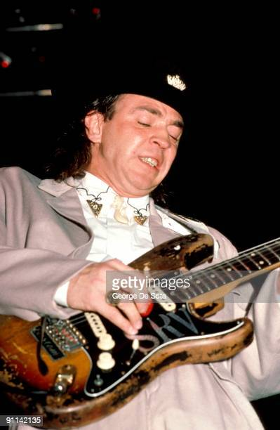 Photo of Stevie Ray VAUGHAN Photo by George De Sota /Redferns