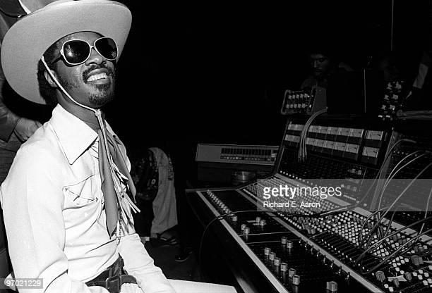 Photo of Stevie WONDER Stevie Wonder promoting the album Songs In The Key Of Life dressed as cowboy