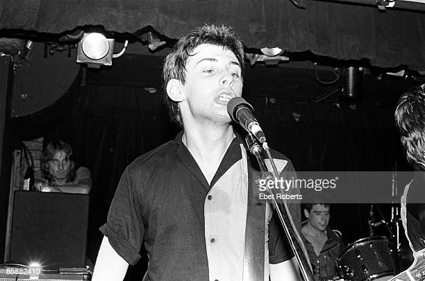 TRAX Photo of STIFF LITTLE FINGERS and Jake BURNS Jake Burns performing on stage