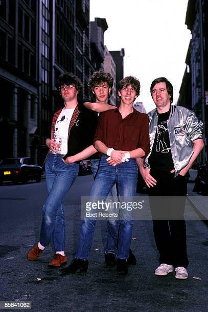 Photo of Stiff Little Fingers Stiff Little Fingers in NYC 8/27/82