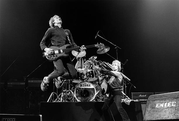Photo of STING and Andy SUMMERS and POLICE and Stewart COPELAND