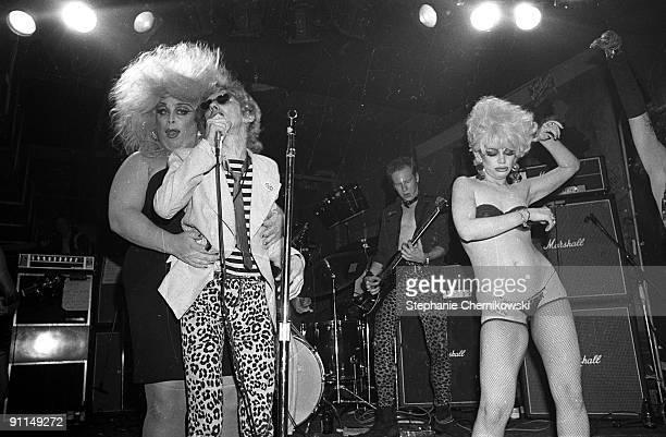 S Photo of Stiv BATORS and DEAD BOYS and DIVINE and Glen BUXTON LR Divine Stiv Bator Cheetah Chrome Transvestite
