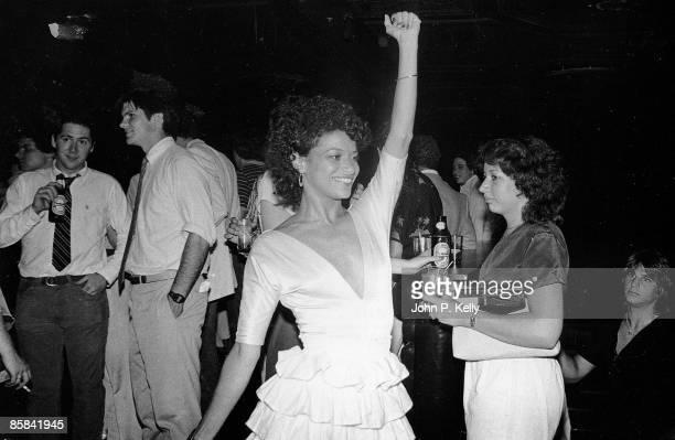 STUDIO 54 Photo of STUDIO 54 clubbers inside the New York nightclub circa 1975