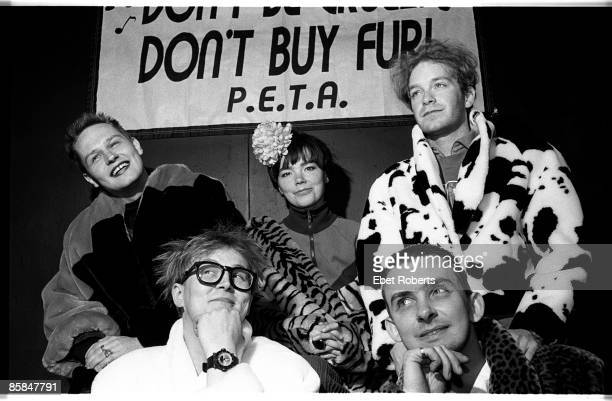 Photo of SUGARCUBES; Sugarcubes at a PETA -Rock Against Fur show at the Palladium in New York City March 24th 1990