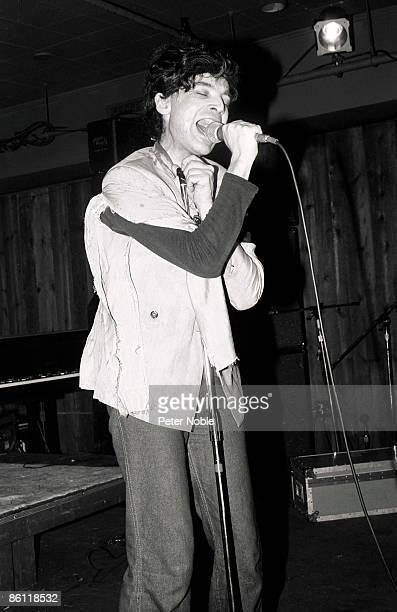 Photo of SUICIDE; Alan Vega live at the Horseshoe