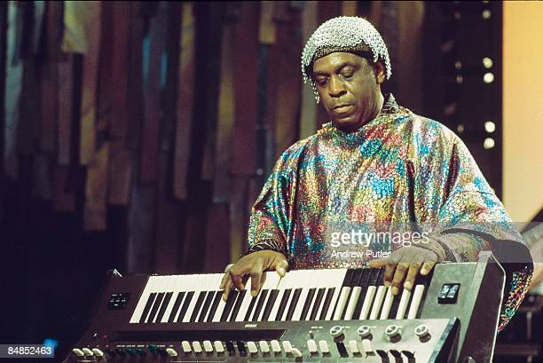 FESTIVAL Photo of SUN RA performing live onstage
