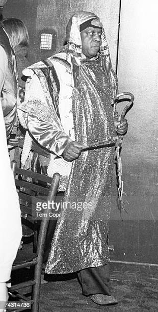 Photo of Sun Ra Photo by Tom Copi/Michael Ochs Archives/Getty Images