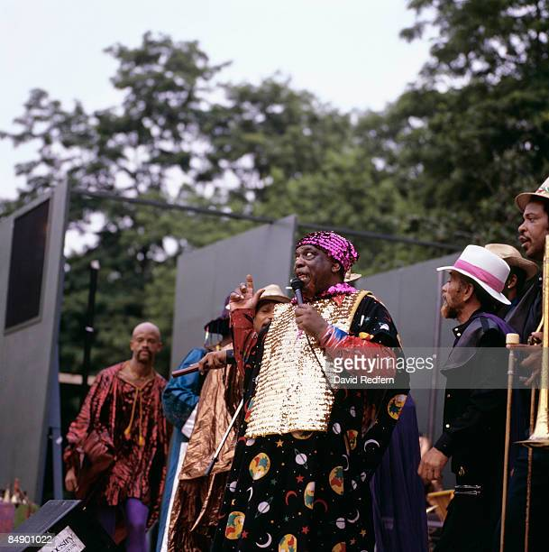 PARK Photo of SUN RA Sun Ra performing on stage 189