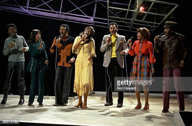POPS Photo of SUPREMES and Mary WILSON and Levi STUBBS and Lawrence PAYTON and Jean TERRELL and FOUR TOPS and Cindy BIRDSONG and Abdul FAKIR and...