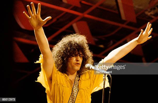 Photo of T REX and Marc BOLAN, performing live on Top Of The Pops TV Show with T Rex