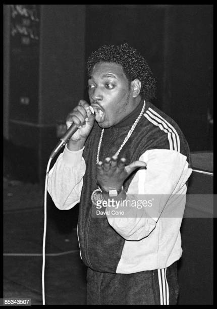 PALACE Photo of T LA ROCK T La Rock performing on stage