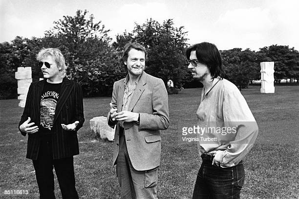 BERLIN Photo of TANGERINE DREAM and Edgar FROESE and Johannes SCHMOELLING and Christopher FRANKE LR Edgar Froese Johannes Schmoelling and Christopher...