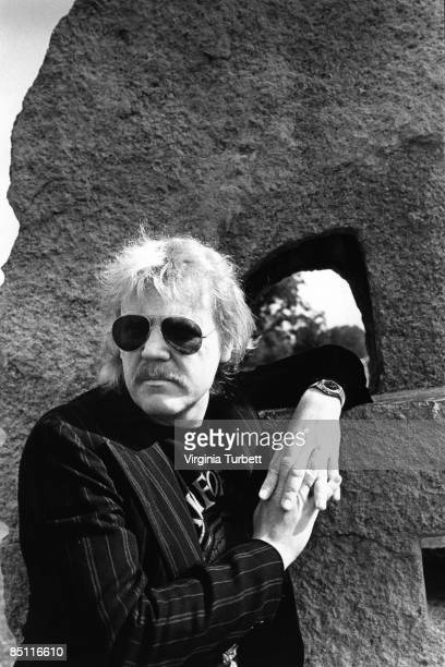 BERLIN Photo of TANGERINE DREAM and Edgar FROESE Posed portrait of Edgar Froese