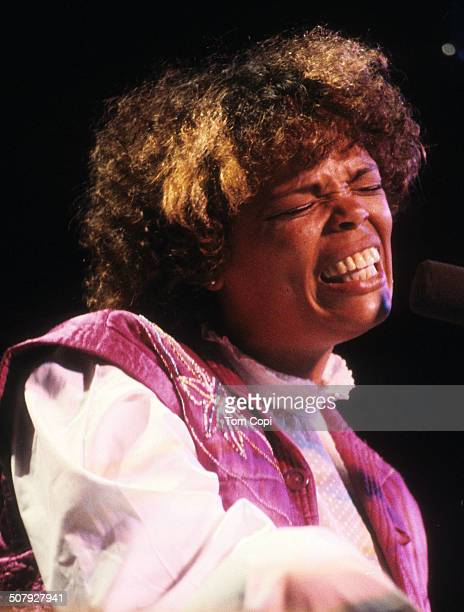 Photo of Tania Marial performing in Monterey California Circa 1981