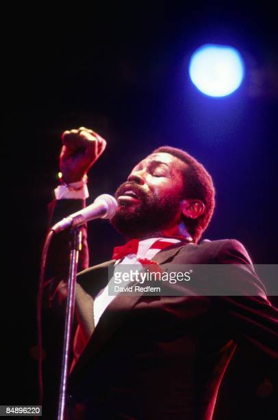 ODEON Photo of Teddy PENDERGRASS Teddy Pendergrass performing on stage