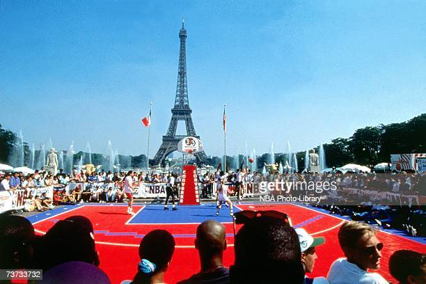 Photo of the 1994 Converse 3 on 3 Tournament held in Paris France NOTE TO USER User expressly acknowledges that by downloading and or using this...