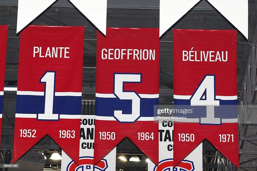 Washington Capitals v Montreal Canadiens - Game Three : News Photo