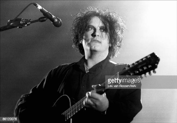 NETHERLANDS APRIL 19 AHOY Photo of THE CURE Robert Smith performing live onstage