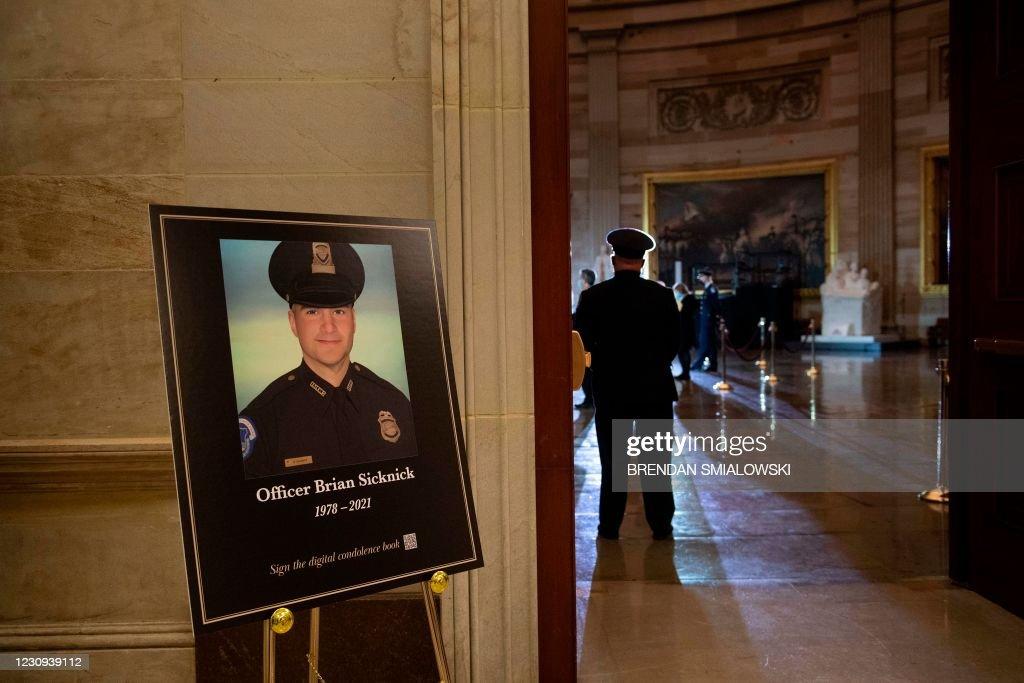 US-POLITICS-UNREST-POLICE : News Photo