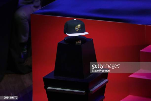 Photo of the Gen G Tigers hat during the NBA 2K League Draft on February 22 2020 at Terminal 5 in New York New York NOTE TO USER User expressly...