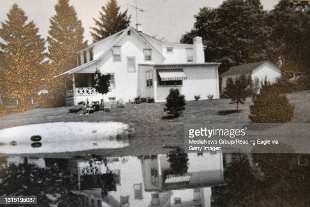 Photo of the home from 1966. Floor Plans: Shawn and Heather McAnulty hired Breyer Construction of Reading to modernize their Warwick Township...