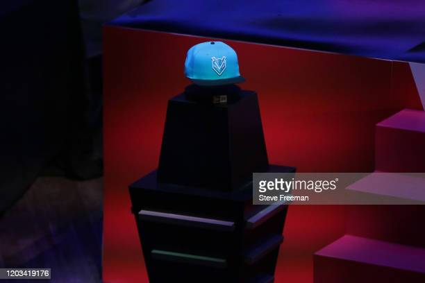 Photo of the Hornets Venom GT hat during the NBA 2K League Draft on February 22 2020 at Terminal 5 in New York New York NOTE TO USER User expressly...