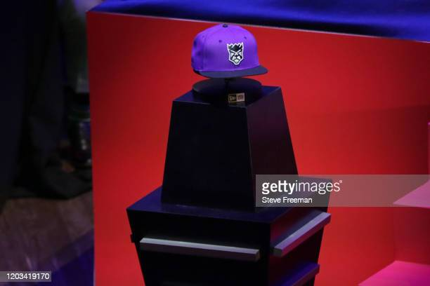 Photo of the Kings Guard Gaming hat during the NBA 2K League Draft on February 22 2020 at Terminal 5 in New York New York NOTE TO USER User expressly...