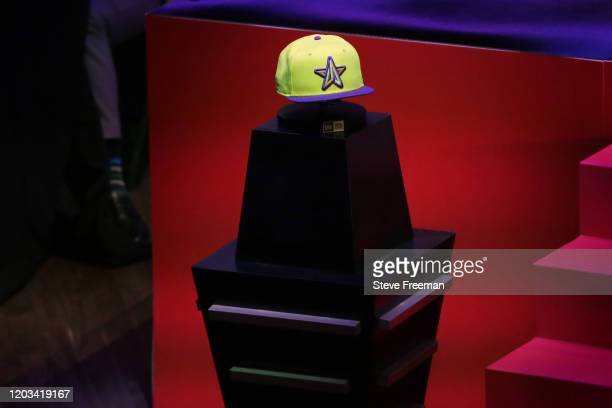 Photo of the Lakers Gaming hat during the NBA 2K League Draft on February 22 2020 at Terminal 5 in New York New York NOTE TO USER User expressly...