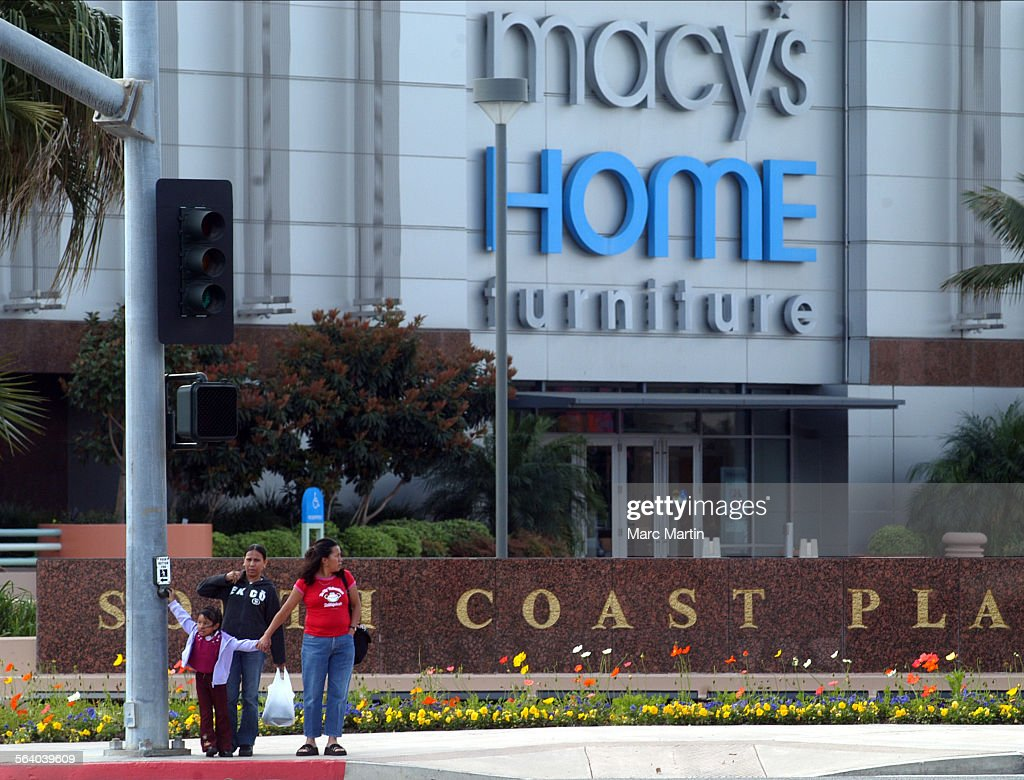 Photo Of The Macyu0027s Home Furniture Store At South Coast Plaza In Costa Mesa.  This