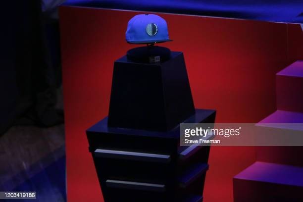 Photo of the Magic Gaming hat during the NBA 2K League Draft on February 22 2020 at Terminal 5 in New York New York NOTE TO USER User expressly...