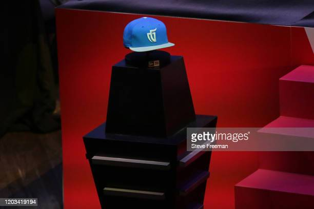 Photo of the Mavs Gaming hat during the NBA 2K League Draft on February 22 2020 at Terminal 5 in New York New York NOTE TO USER User expressly...