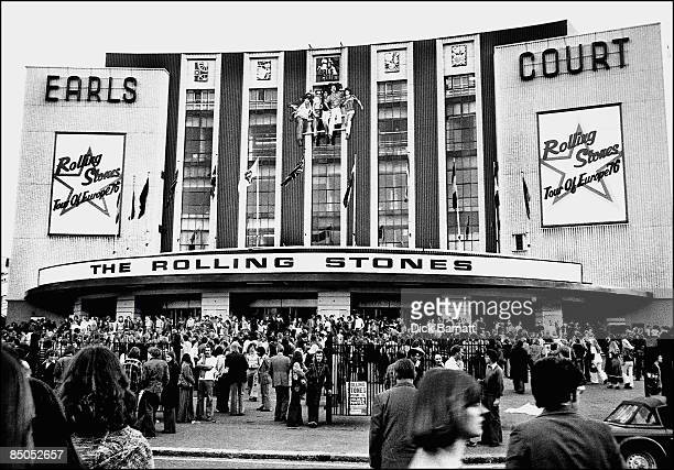 COURT Photo of THE ROLLING STONES EARLS COURT Earls Court 25th May 1976