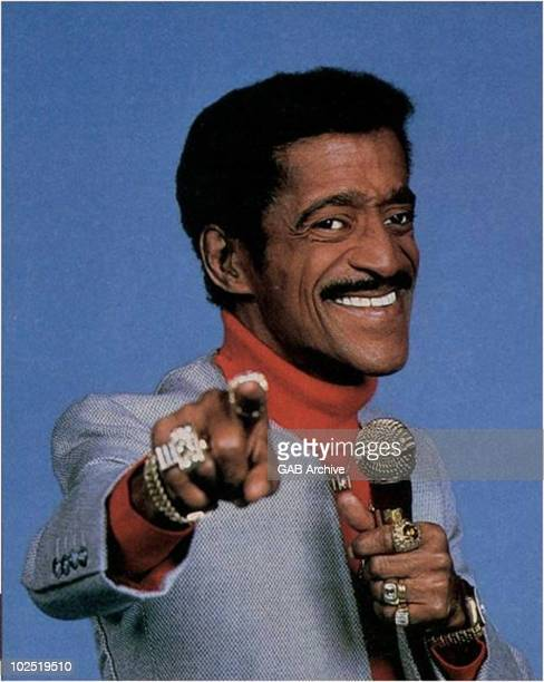 Photo of the singer Sammy Davis Jr