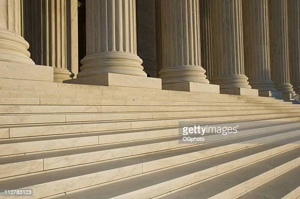 Photo of the steps and columns at the U.S. Supreme Court