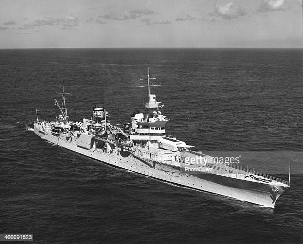 Photo of the US Cruiser USS Indianapolis 1939