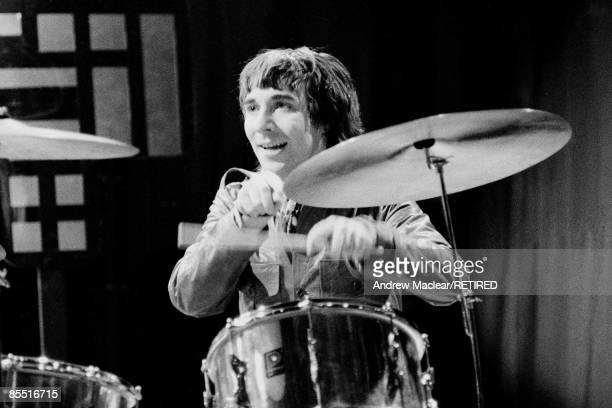 POPS Photo of The Who and Keith MOON Keith Moon performing on Top of the Pops tv show
