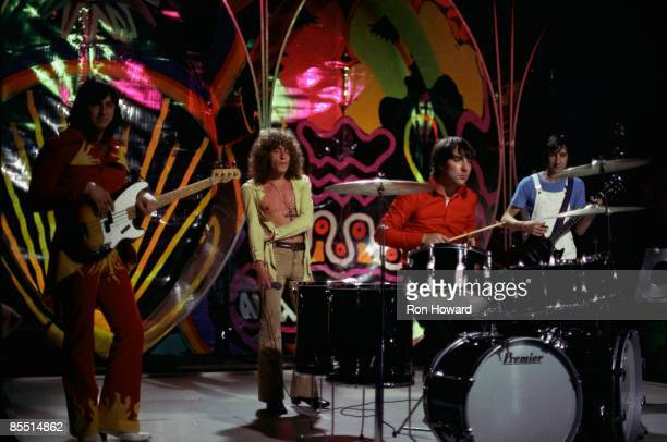 John Entwistle Roger Daltrey Keith Moon Pete Townshend performing on show