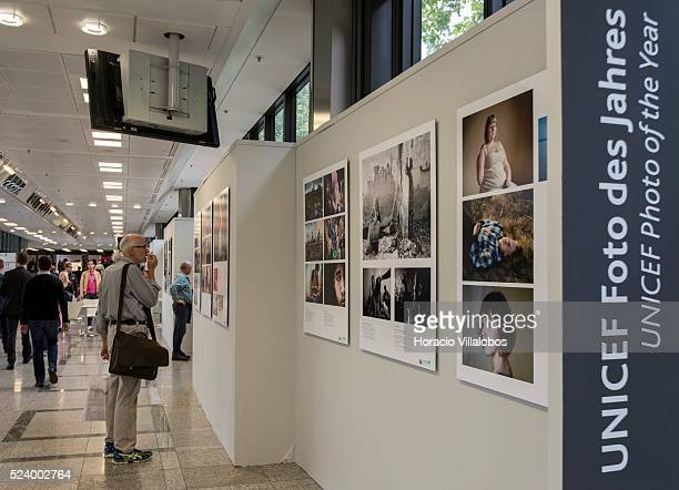 Photo of the Year in Photokina 2014 in Cologne Germany 18 September 2014 Each year 'UNICEF Photo of the Year Award' is given to photos and photo...